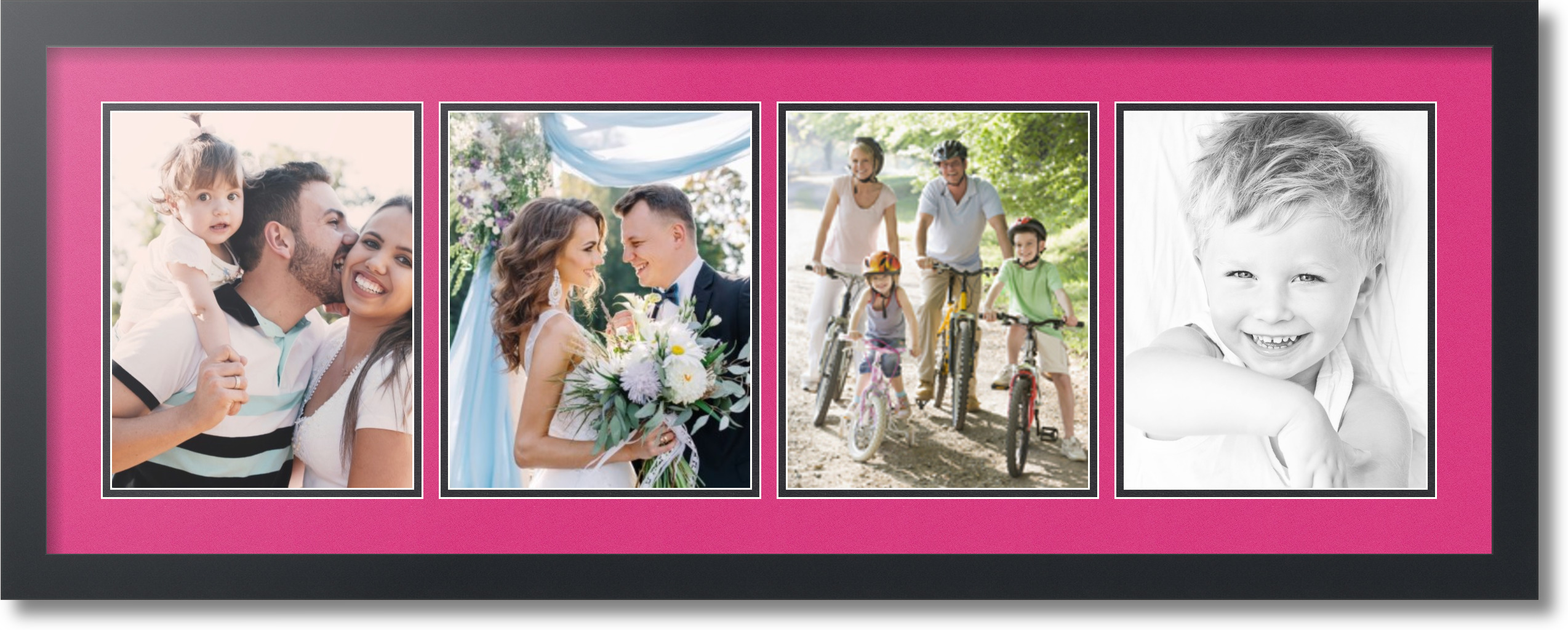 Arttoframes collage mat picture photo frame 4 8x10 openings arttoframes collage mat picture photo frame 4 8x10 jeuxipadfo Image collections