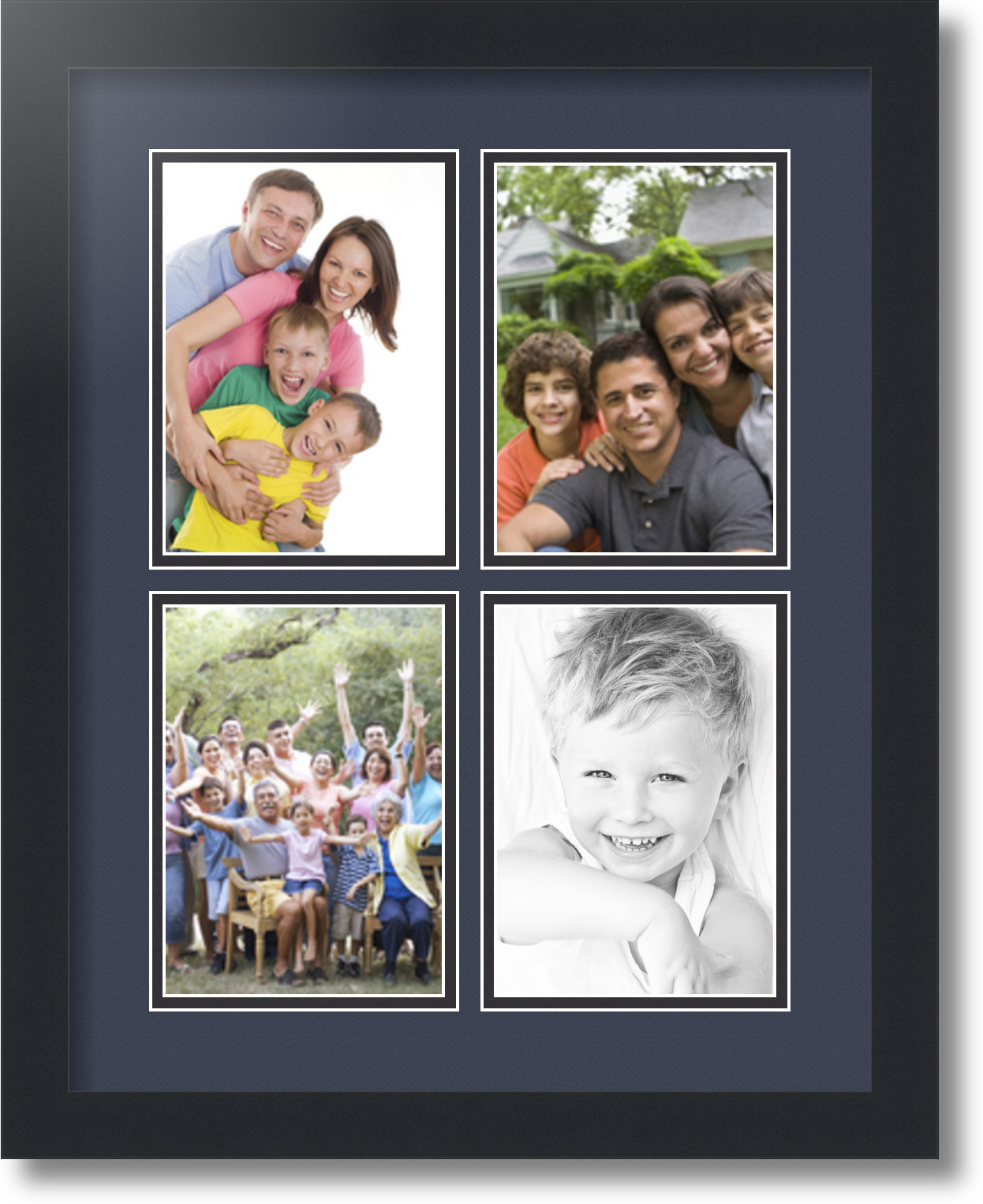 Arttoframes collage mat picture photo frame 4 5x7 openings in arttoframes collage mat picture photo frame 4 5x7 jeuxipadfo Gallery
