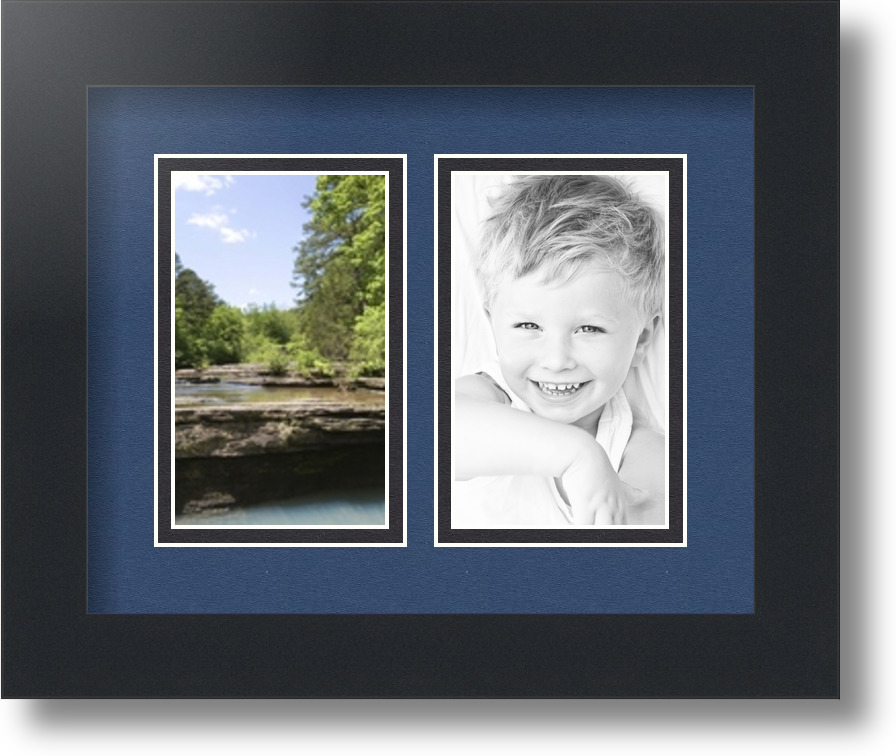 Arttoframes Collage Mat Picture Photo Frame 2 3x5