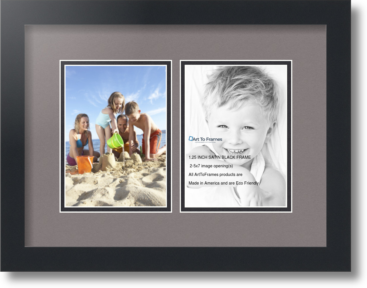 5x7 Collage Picture Frames 5 Openings.ArtToFrames Collage Photo ...