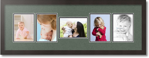Picture Frame / Picture Frames Search / Collage Double Mat / 5 ...