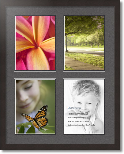 22x28 white frame with mat 28 images 22x28 satin black collage