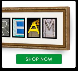 Letter Art Frame