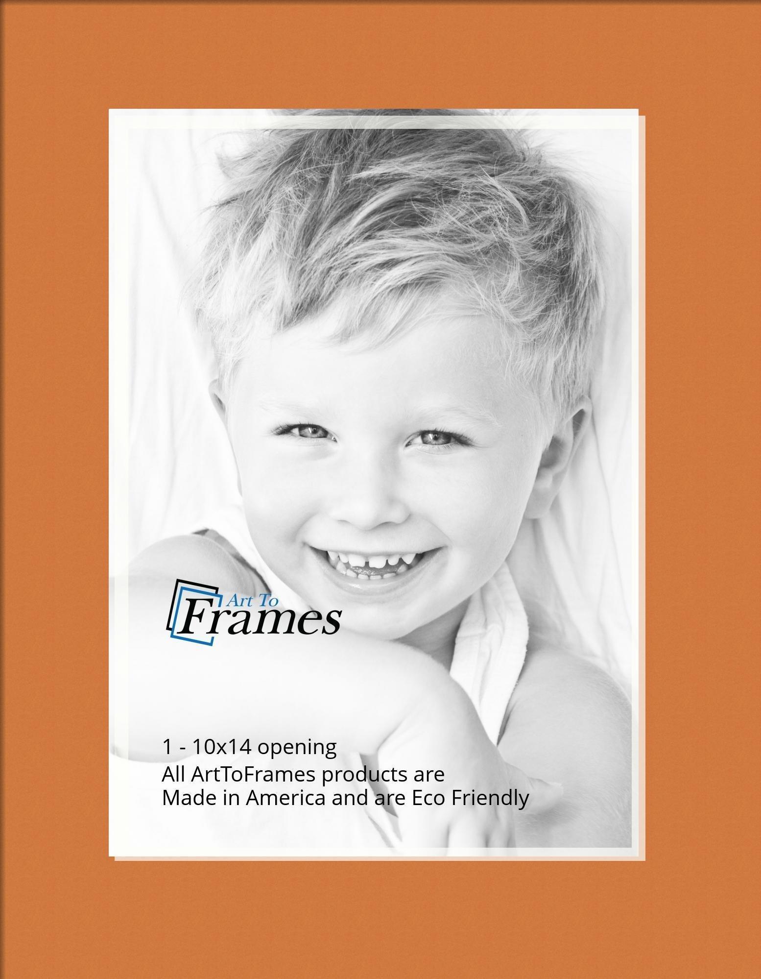 ArtToFrames-Custom-Orange-Octoberfest-Picture-Photo-Frame-Mat-Matting-Board-SM thumbnail 59