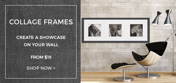 24x36 Picture Frames, 24x36 Poster Frames - ArtToFrame