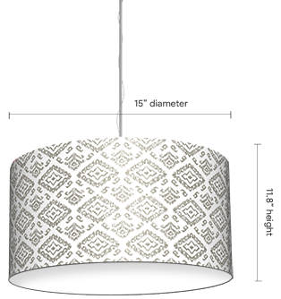 Custom table lamps customer printed lamp shades pendant lamps pendant shade aloadofball Image collections
