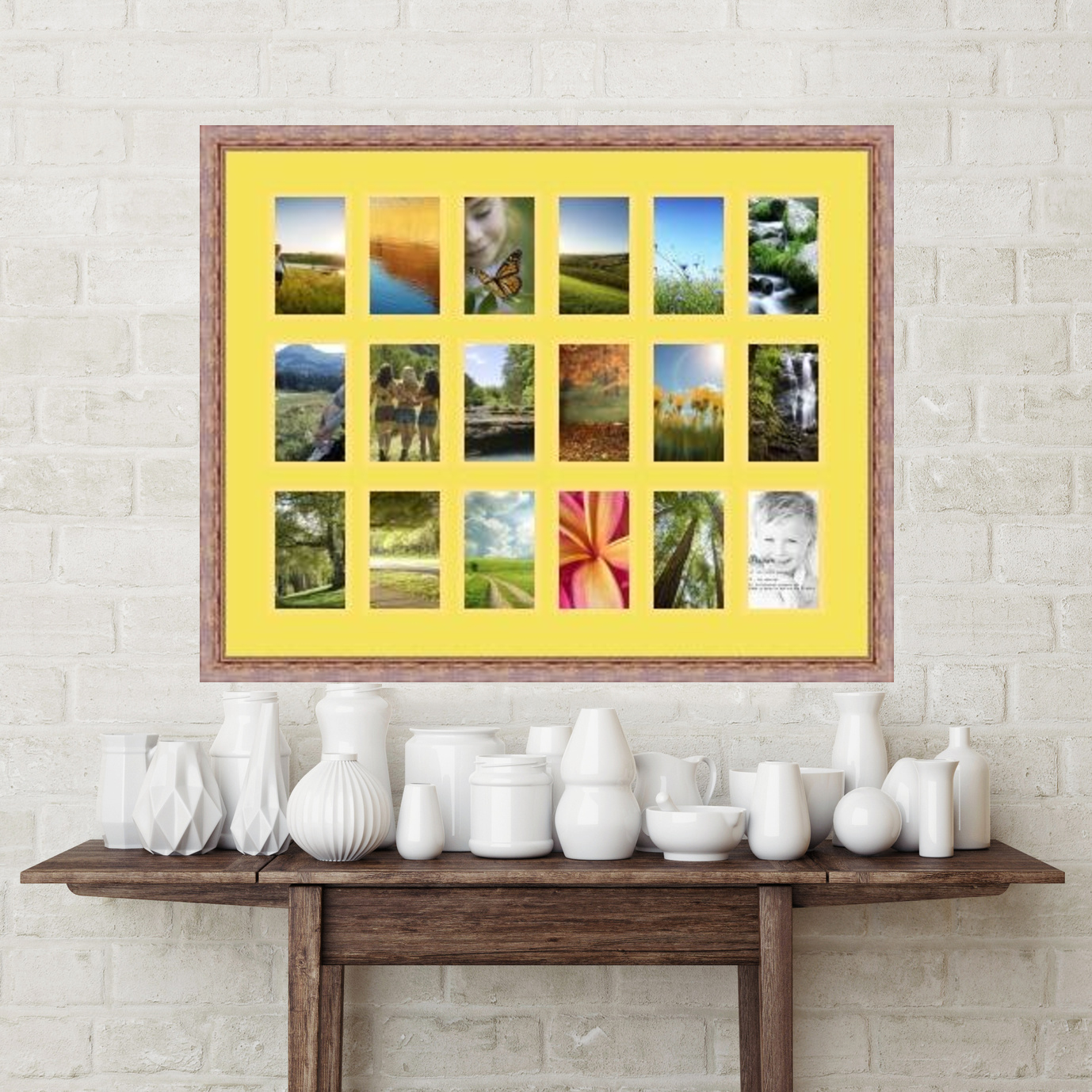 Fancy 5x15 Picture Frame Composition - Picture Frame Ideas ...